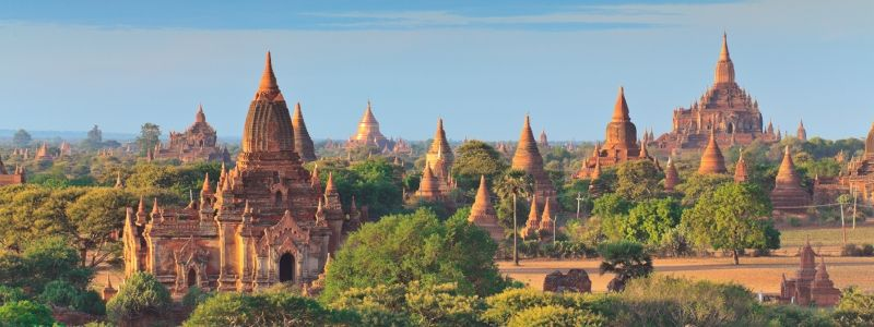 Ancient Temples of Bagan Overnight