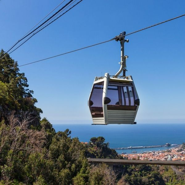 City, Cable Car, Monte and Toboggan