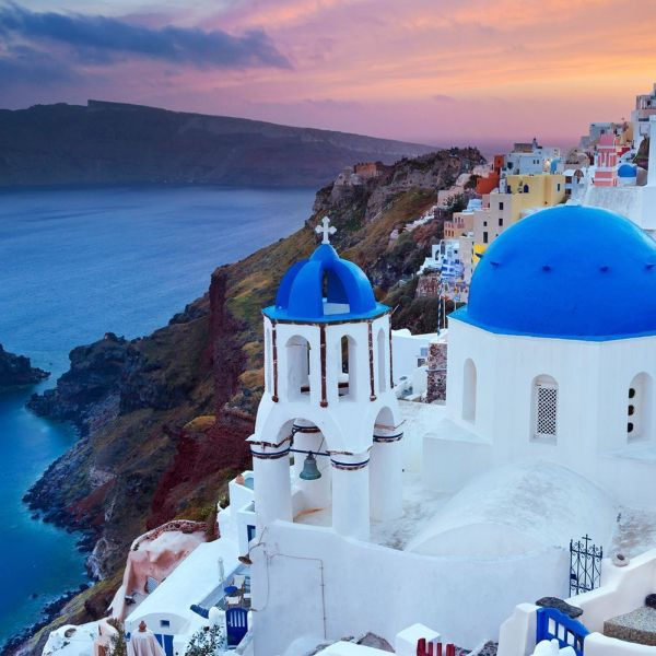 Village Of Oia & Winery Visit