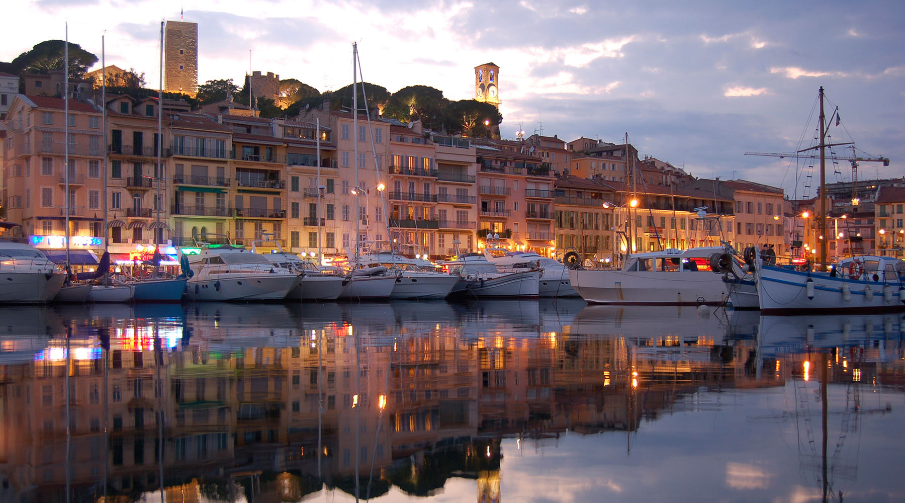 On the Grand Prix & Cannes leg of the World Journey, where you can visit the lively Cote d'Azur town of Antibes.