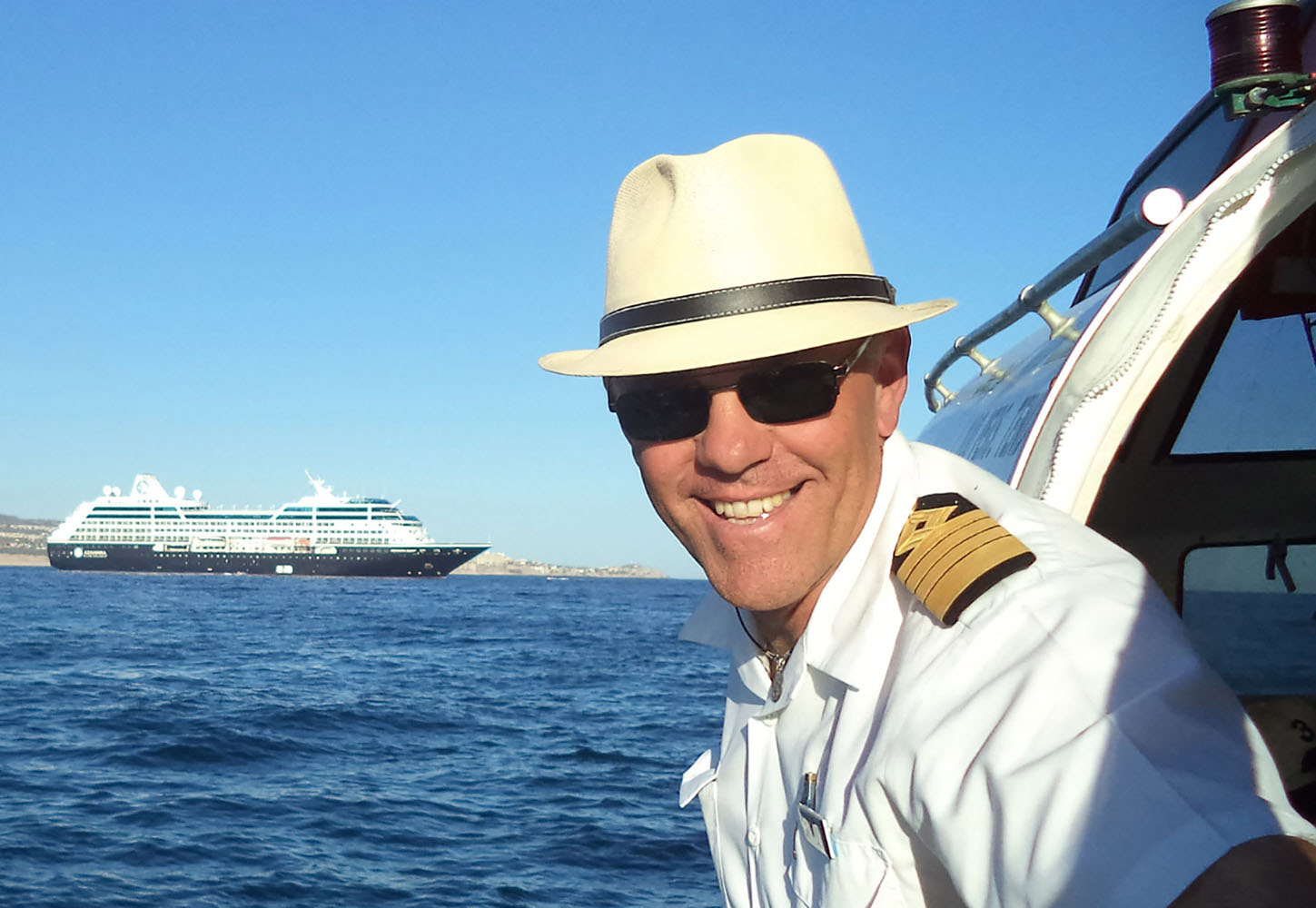 Captain Jose of Azamara Club Cruises in Cabo.