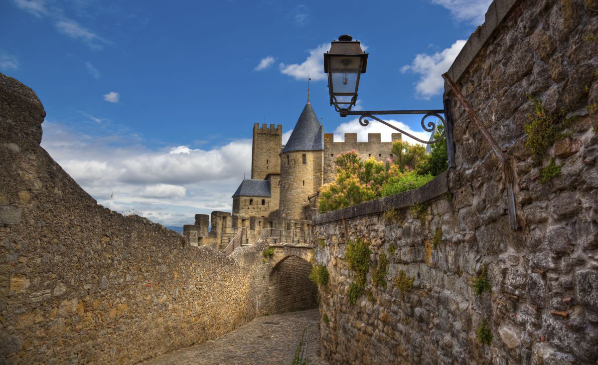 Cité de Carcassonne in Carcassonne, France