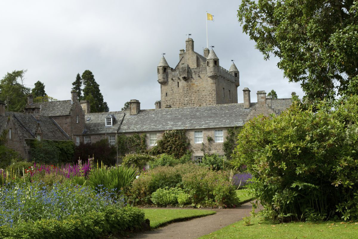 Cawdor Castle in Nairn, Scotland