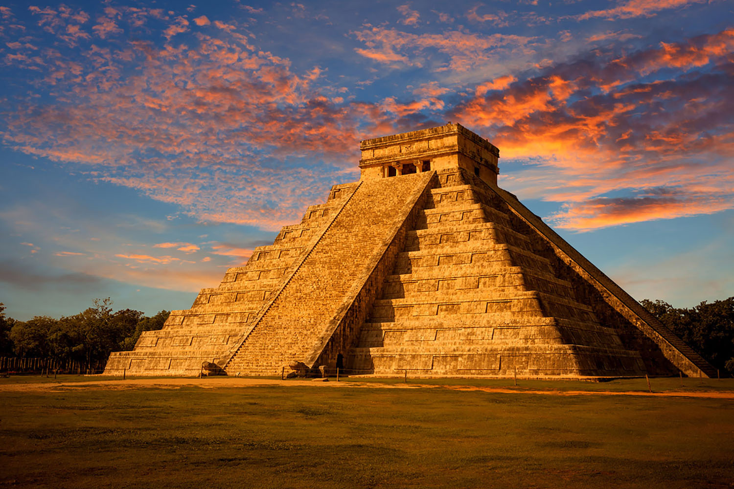 Further north, a visit to Cozumel, Mexico, brings the opportunity to visit Chichén Itza.