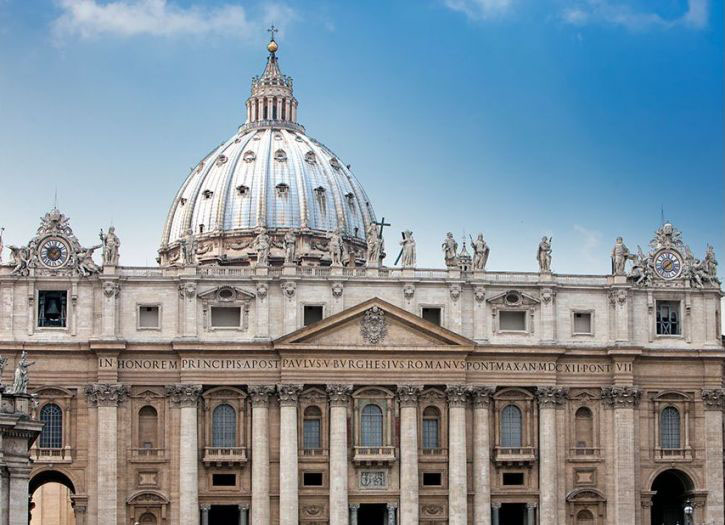 Pope's Summer Residence, Vatican Museum and St Peter's Basilica