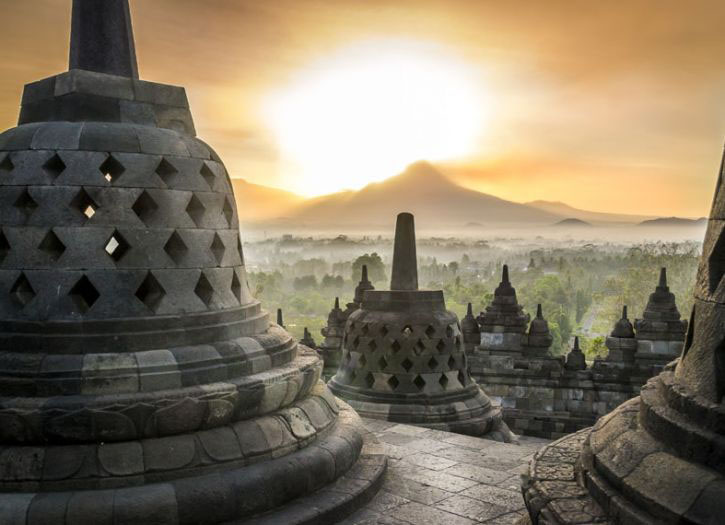 UNESCO Borobudur Temple and Train Ride