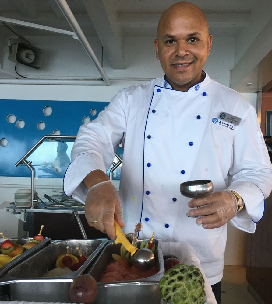 Cruise ship Chef Iwan Pennings
