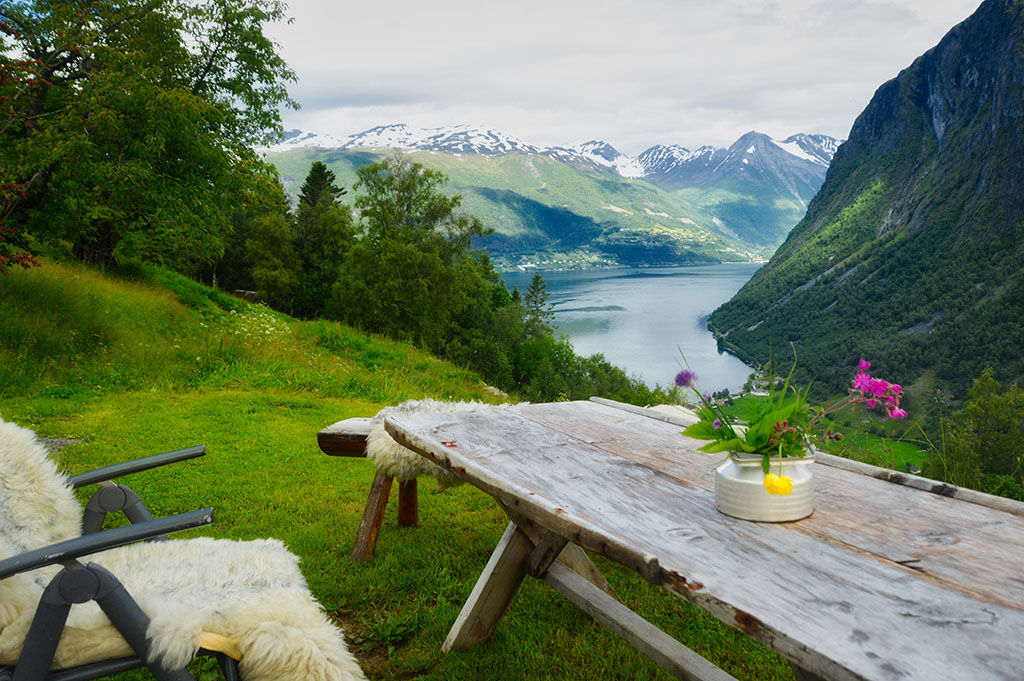 Geiranger Fjord is best seen with our shore excursions.
