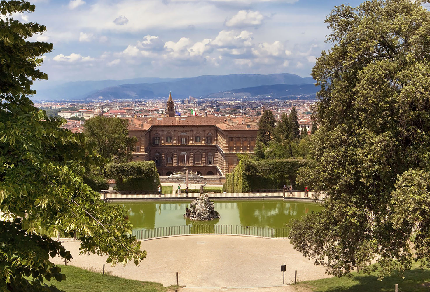 An exploration of Florence's history will lead you to the Palazzo Pitti.