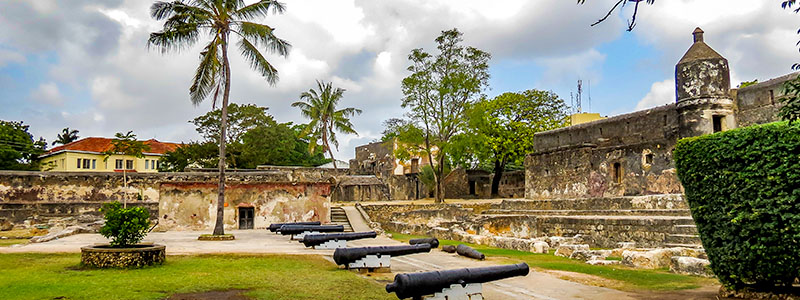 Fort Jesus in Mombasa, Kenya