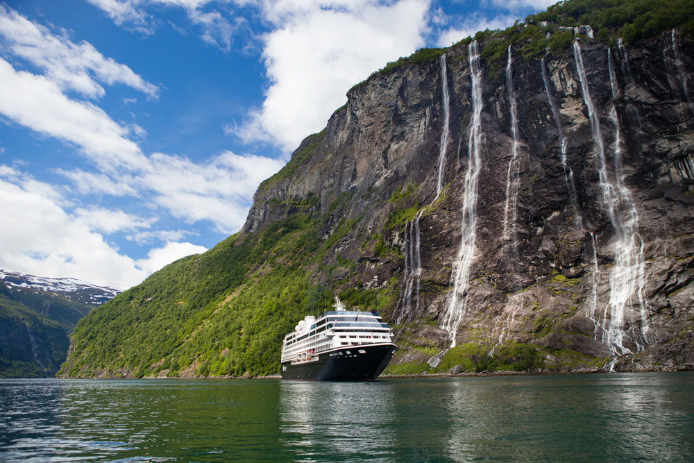 Norway is a natural wonderland with stunning mountains, glaciers, waterfalls, and lakes.
