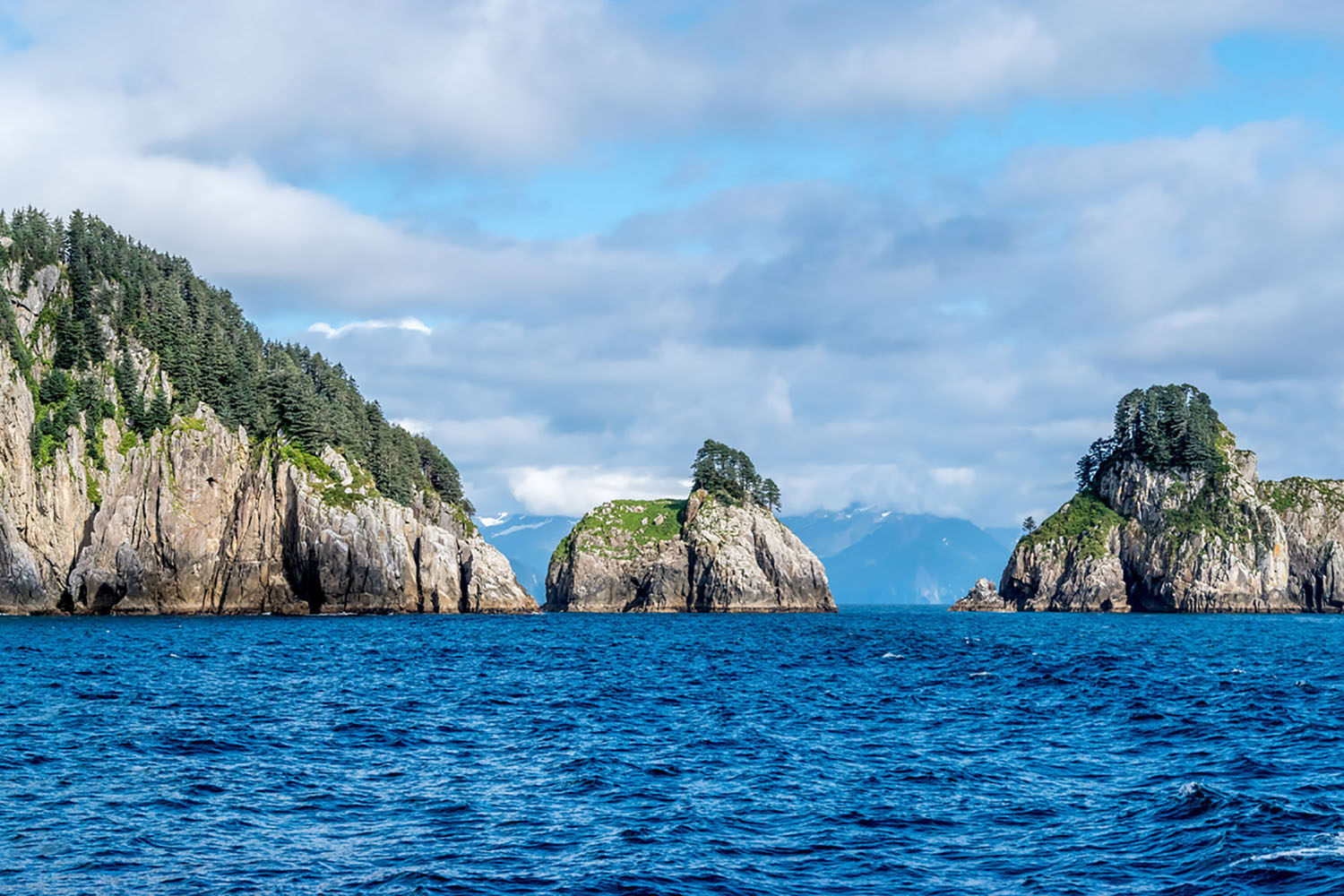 Islands in Resurrection Bay, Alaska