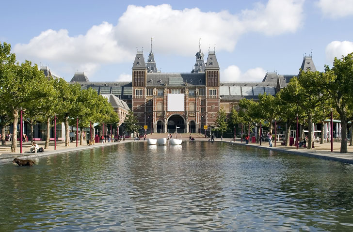 Rijksmuseum in Amsterdam, Holland