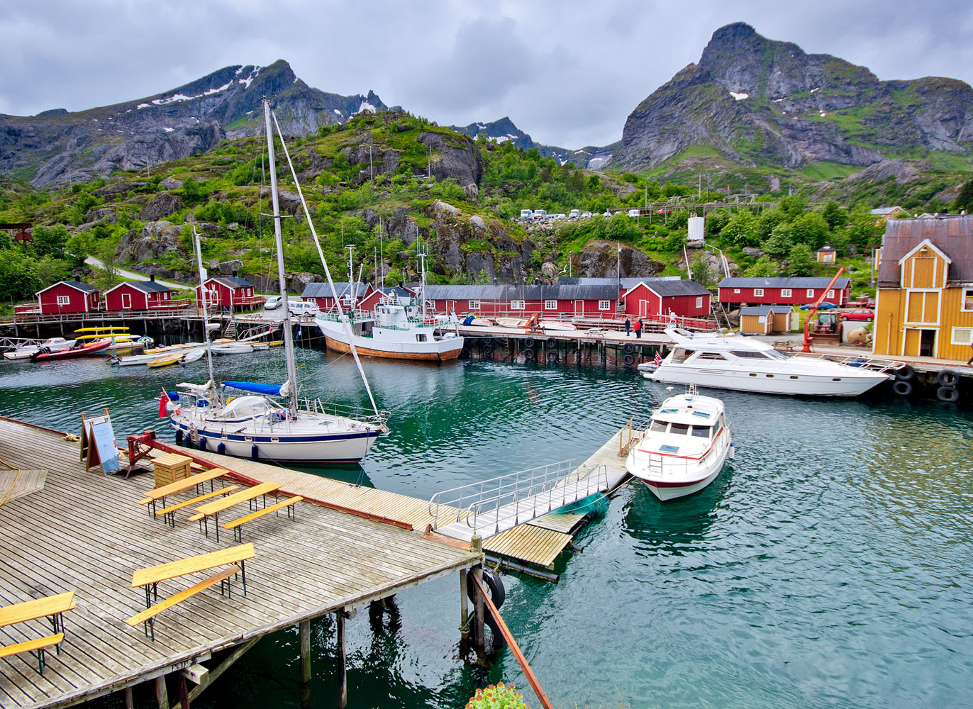 Nusfjord- Oldest fishing village in Norway