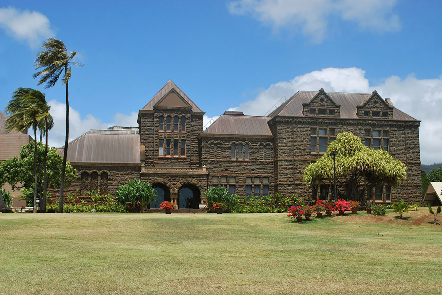 The main building of the Bishop Museum in Hawaii