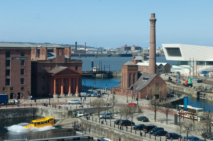 The Tate Liverpool in Liverpool, England
