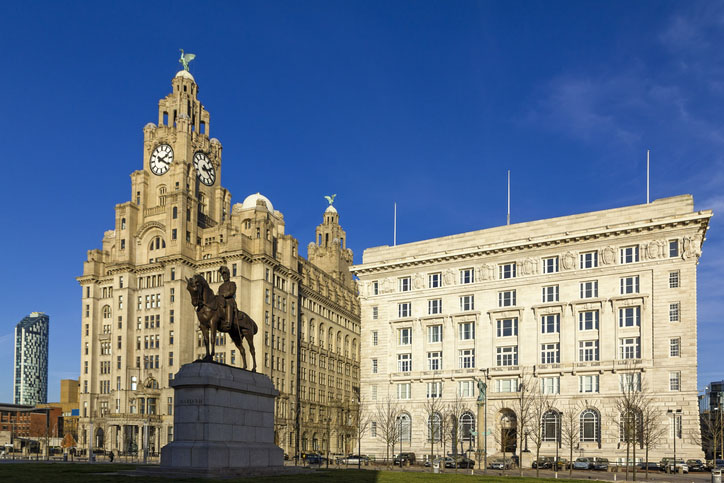 The Cunard Building in Liverpool