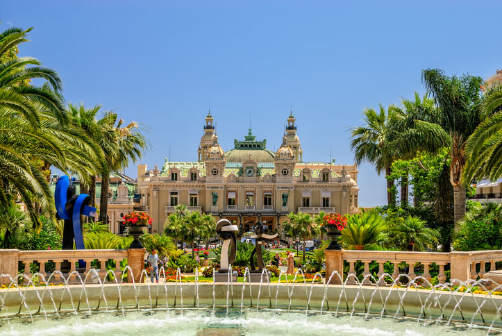 Grand Casino in Monte Carlo. Monaco