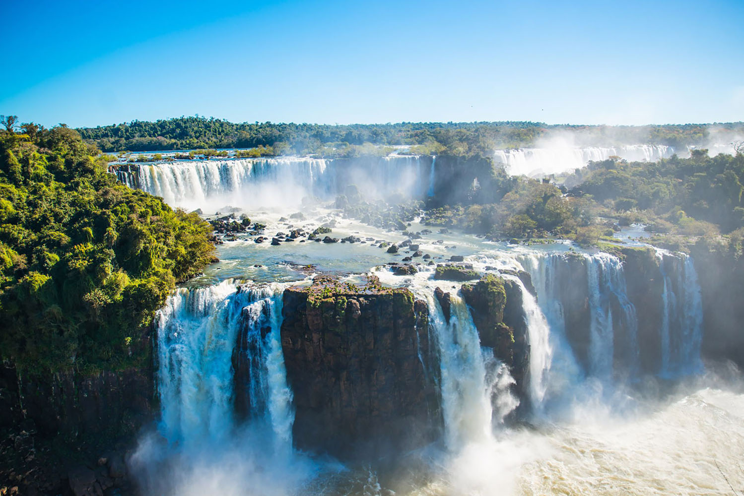 Iguazu Falls and Devil's Throat