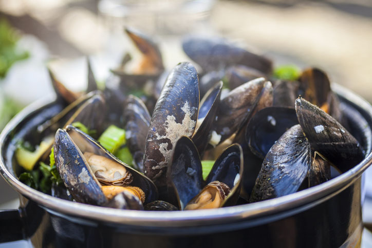 Moules Mariniere Mussels