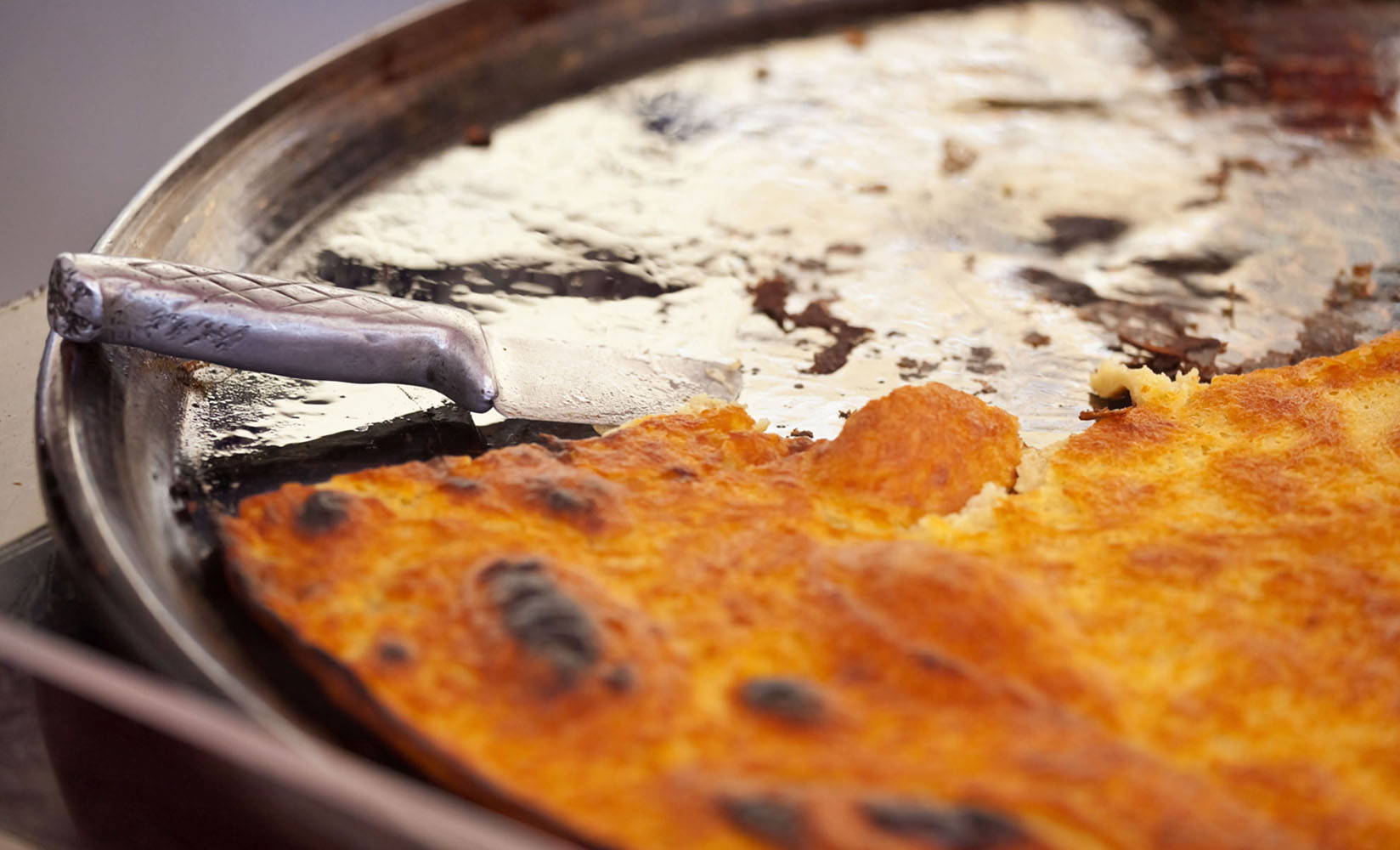 The French dish of Socca is a pancake made with chickpea flour.