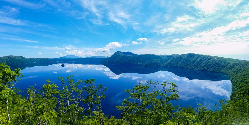 Lake Mashu, Akan National Park, Japan