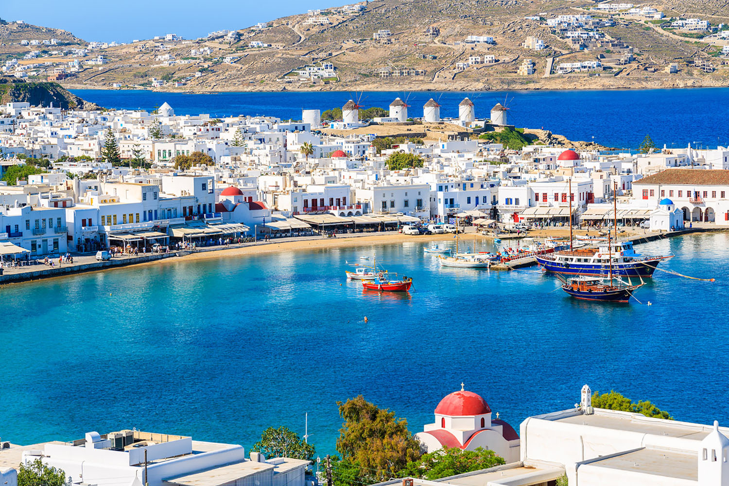 Mykonos looks like a scene straight from a postcard.