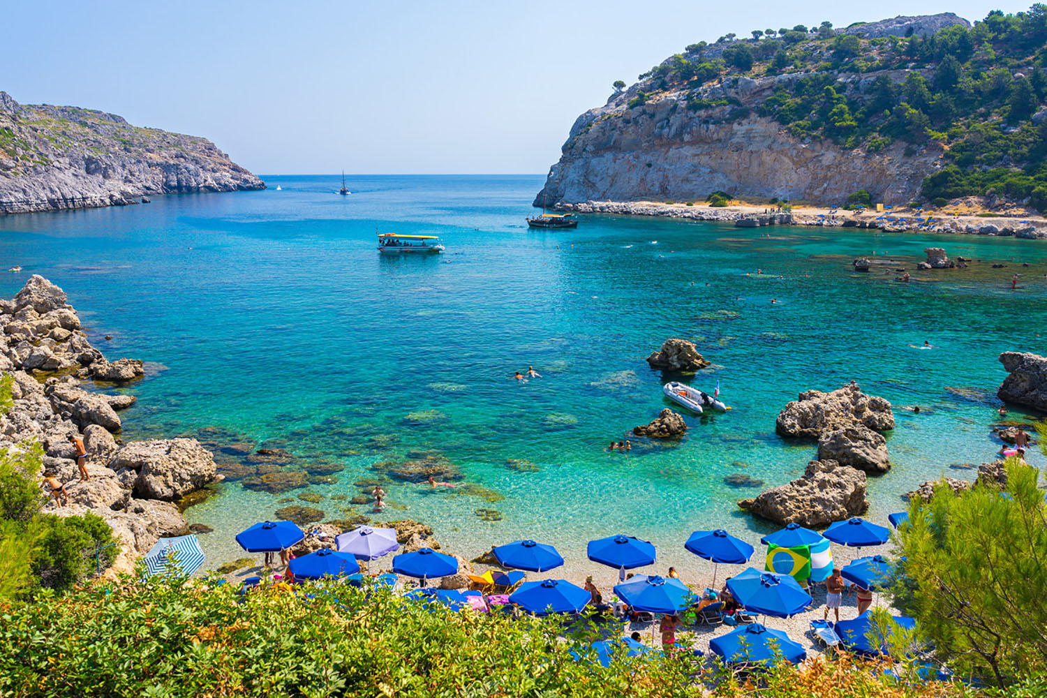 Greece is home to some of the best beaches in the world.