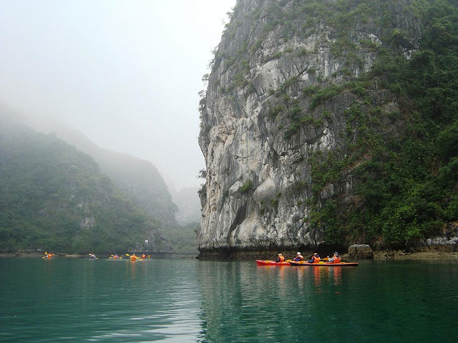 More Kayaking Scenery