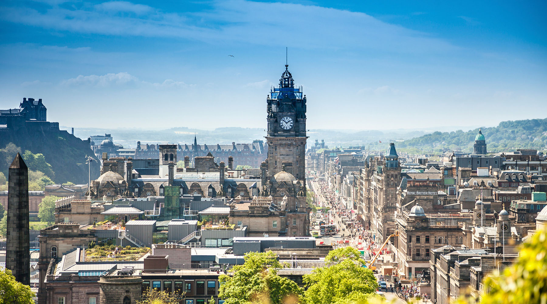Edinburgh: Golf, Scotch and History