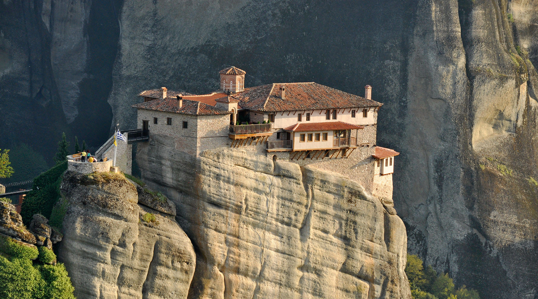 Meteora is Otherworldly