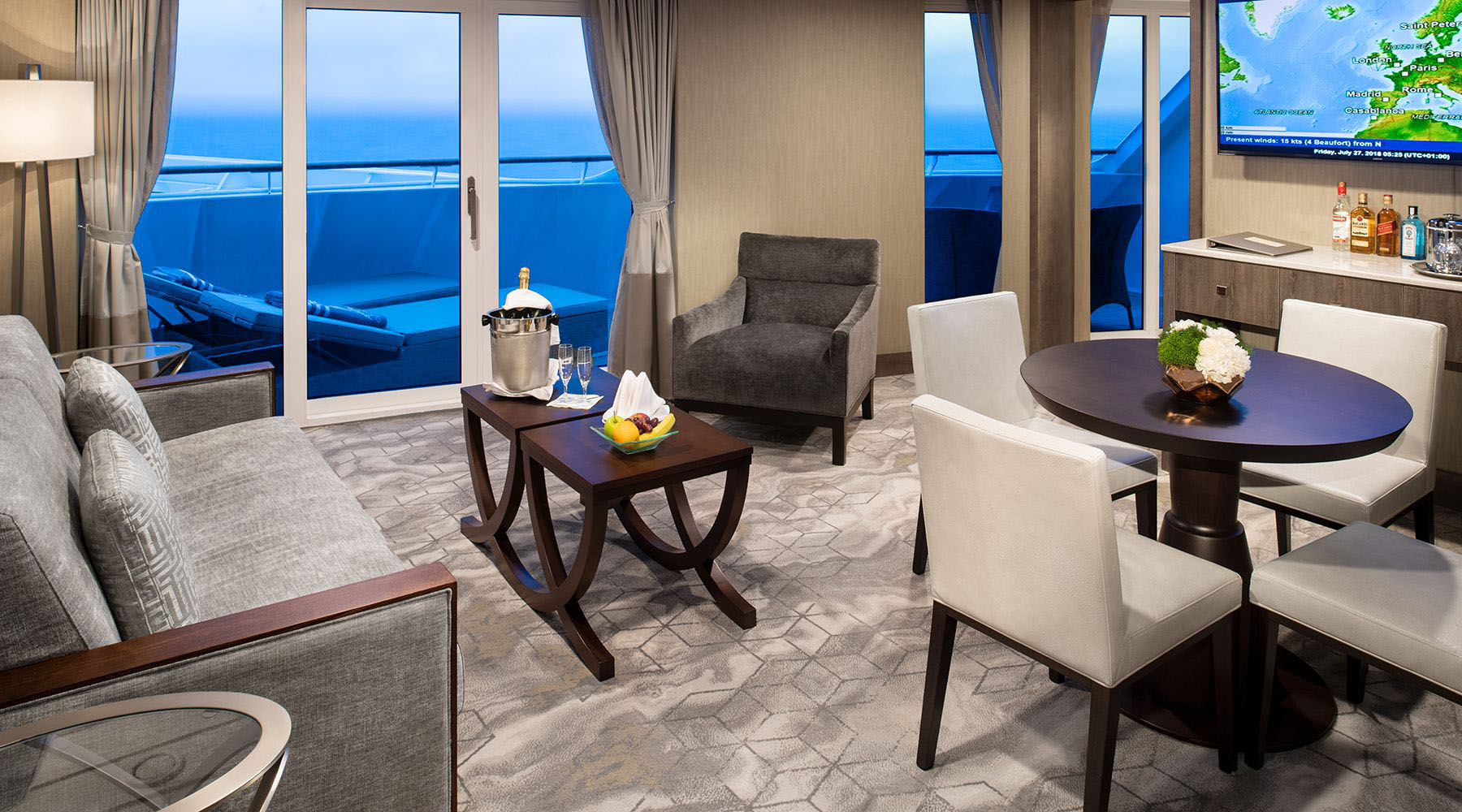 Club Ocean Suite Stateroom