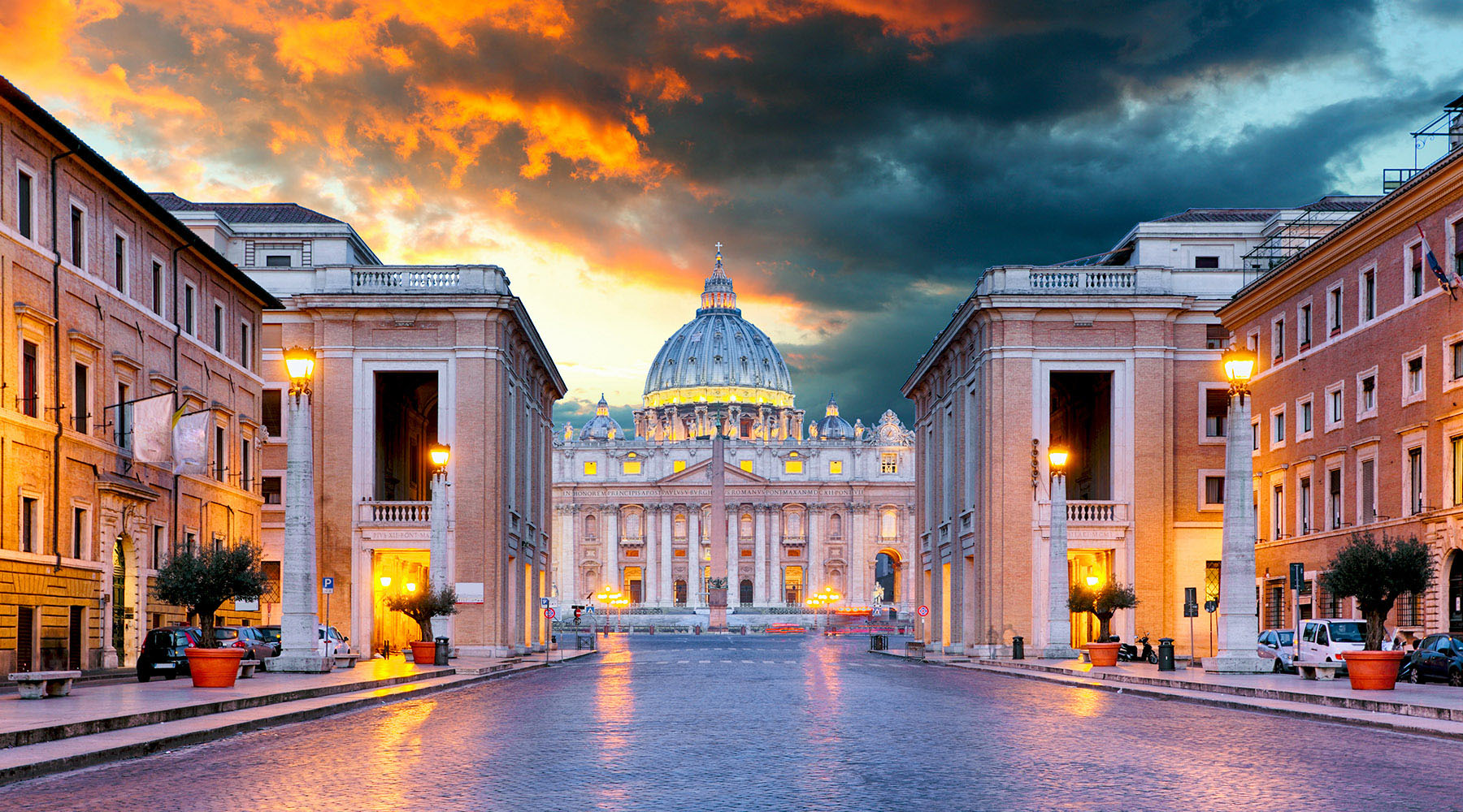 10-Night Grand Prix & 3-Night Pre Rome Stay