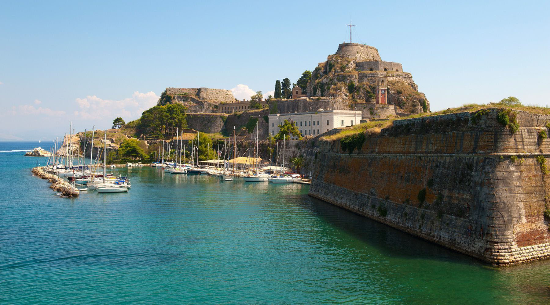 Luxury Cruises to Corfu, Greece