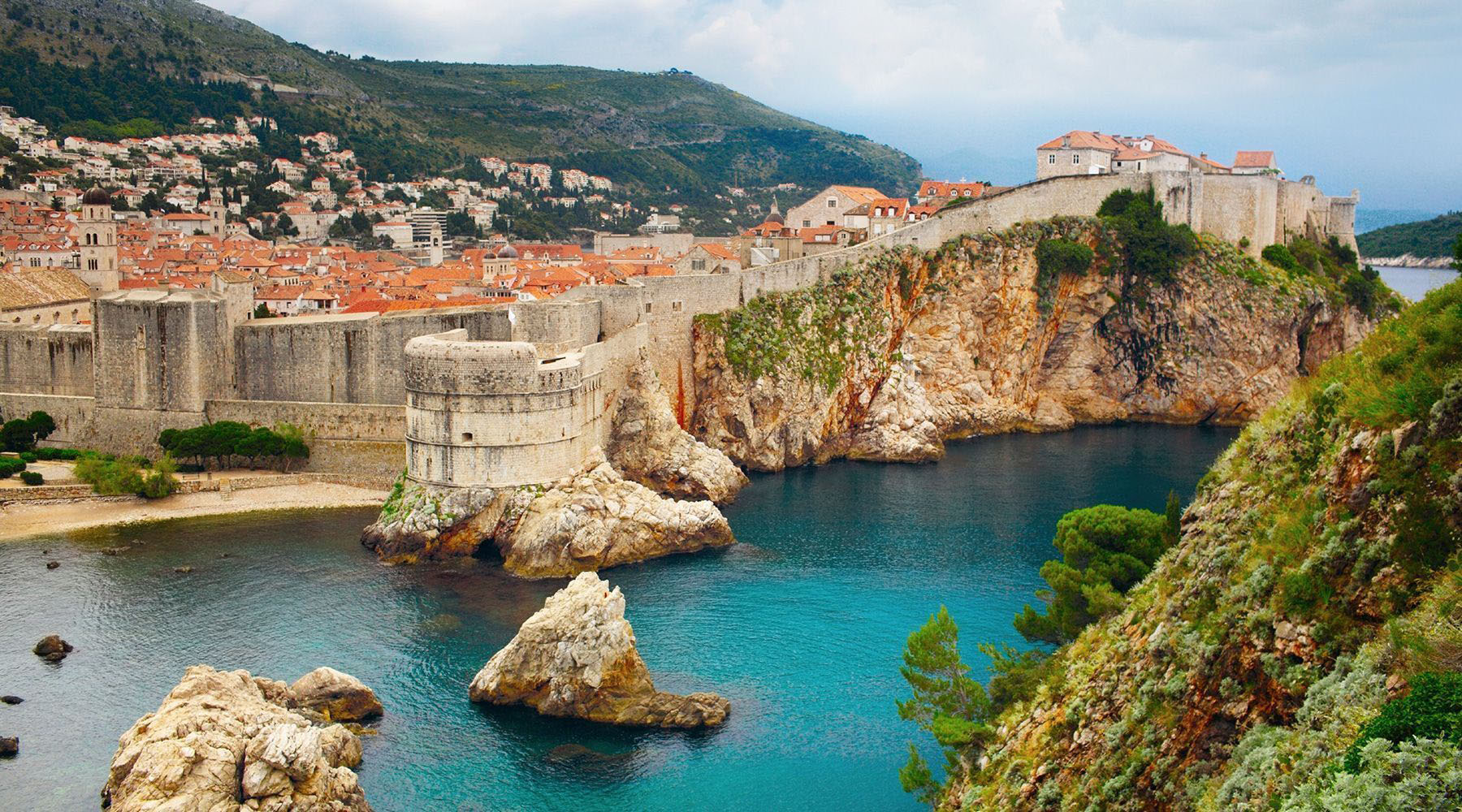 Cruise to Dubrovnik, Croatia