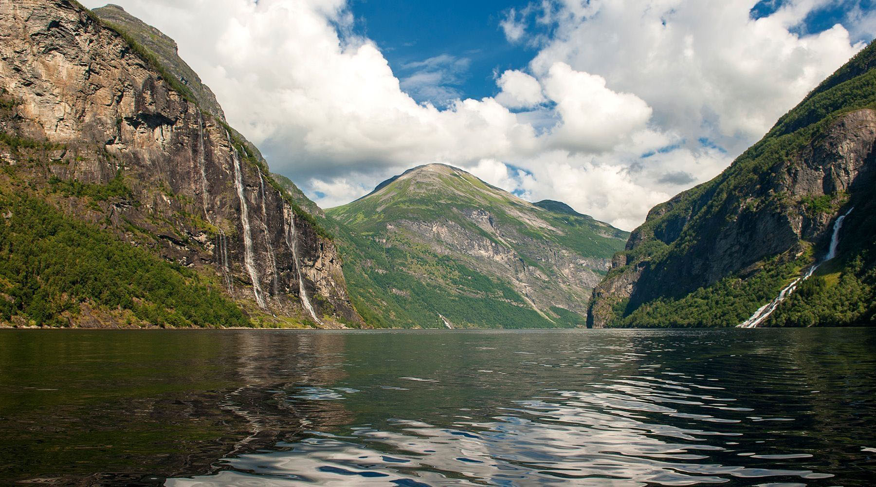 Geiranger, Norwary Luxury Cruises