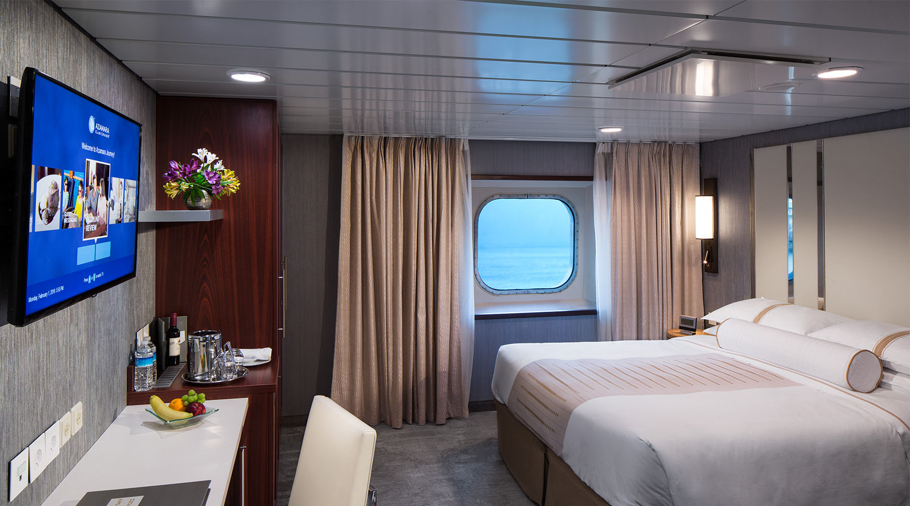 Staterooms on Azamara Quest and Journey
