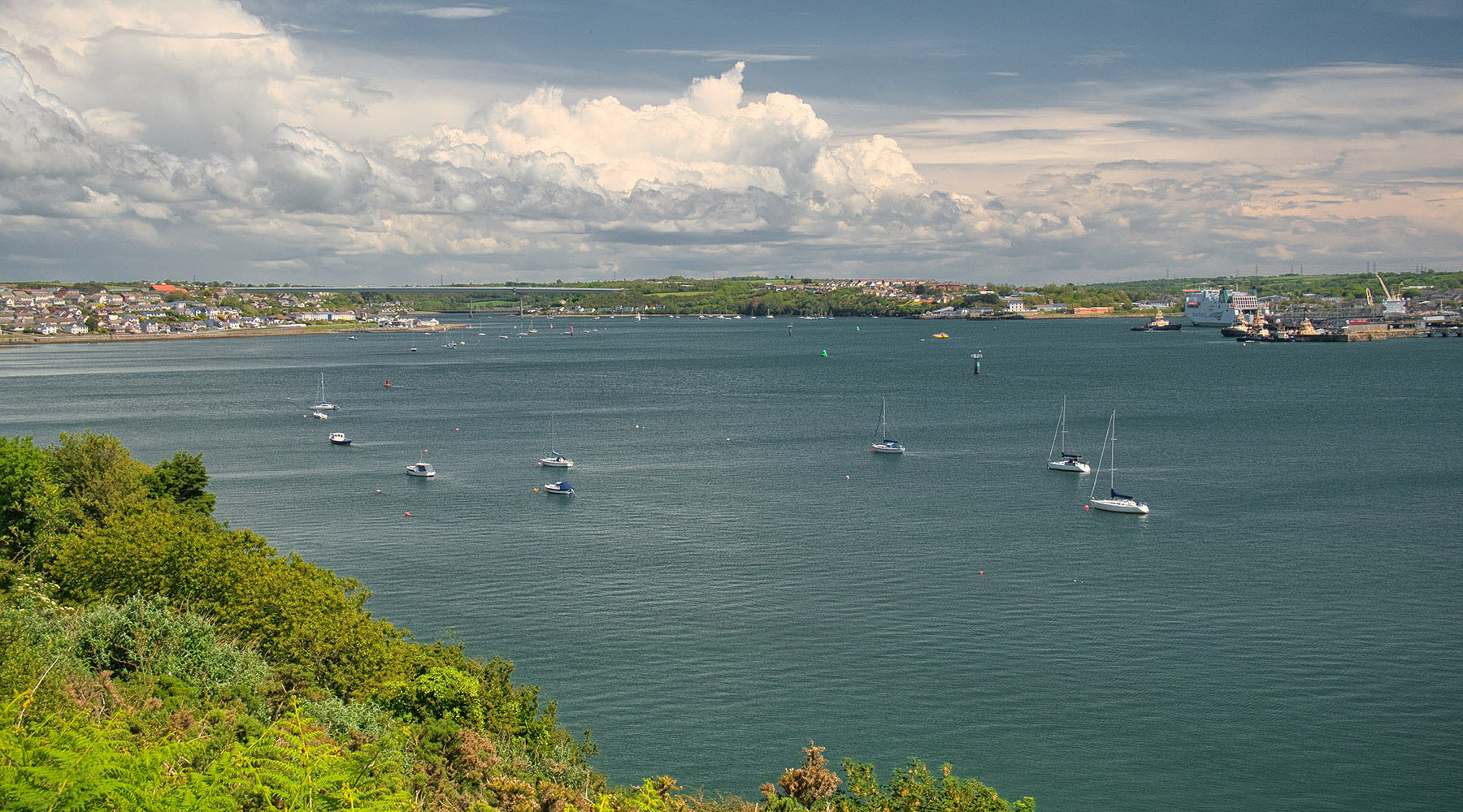Milford Haven, Wales