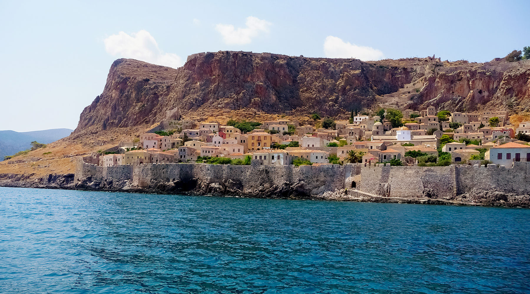 Luxury voyages to Monemvasia, Greece