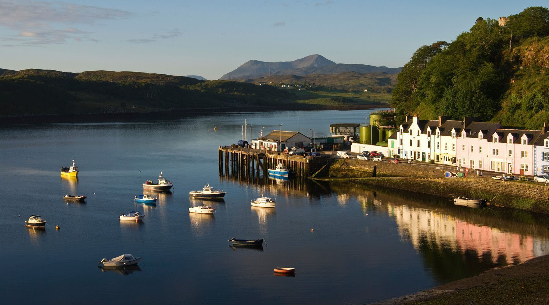 Luxury Cruises to Portree, Isle of Skye, Scotland