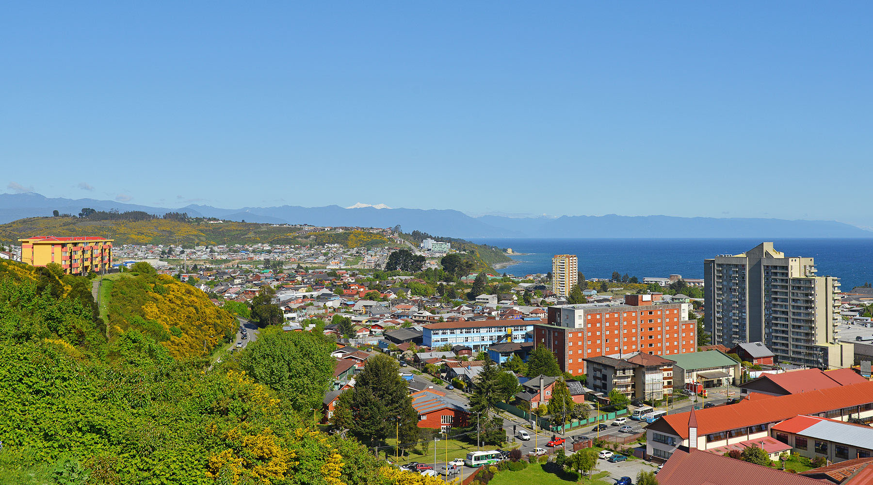 Luxury voyages to Puerto Montt, Chile