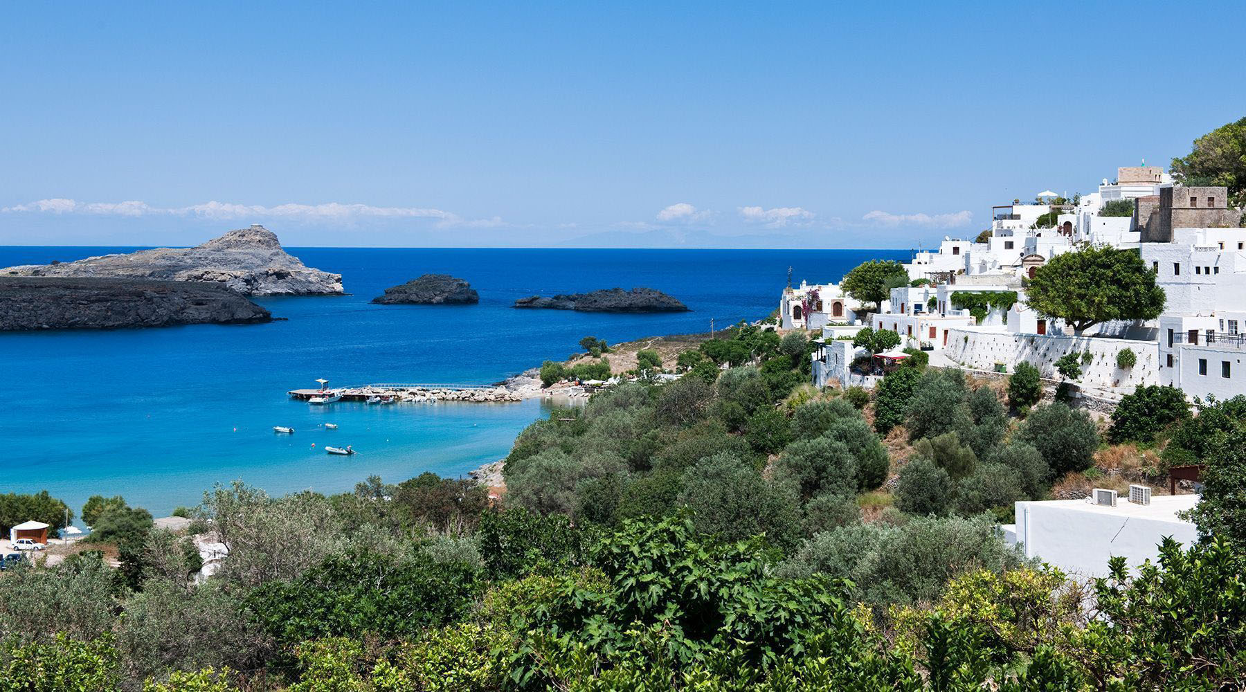 Rhodes (Lindos), Greece Luxury Cruises