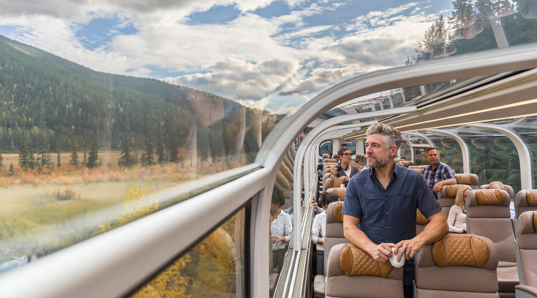Rocky Mountaineer Land and Sea Packages