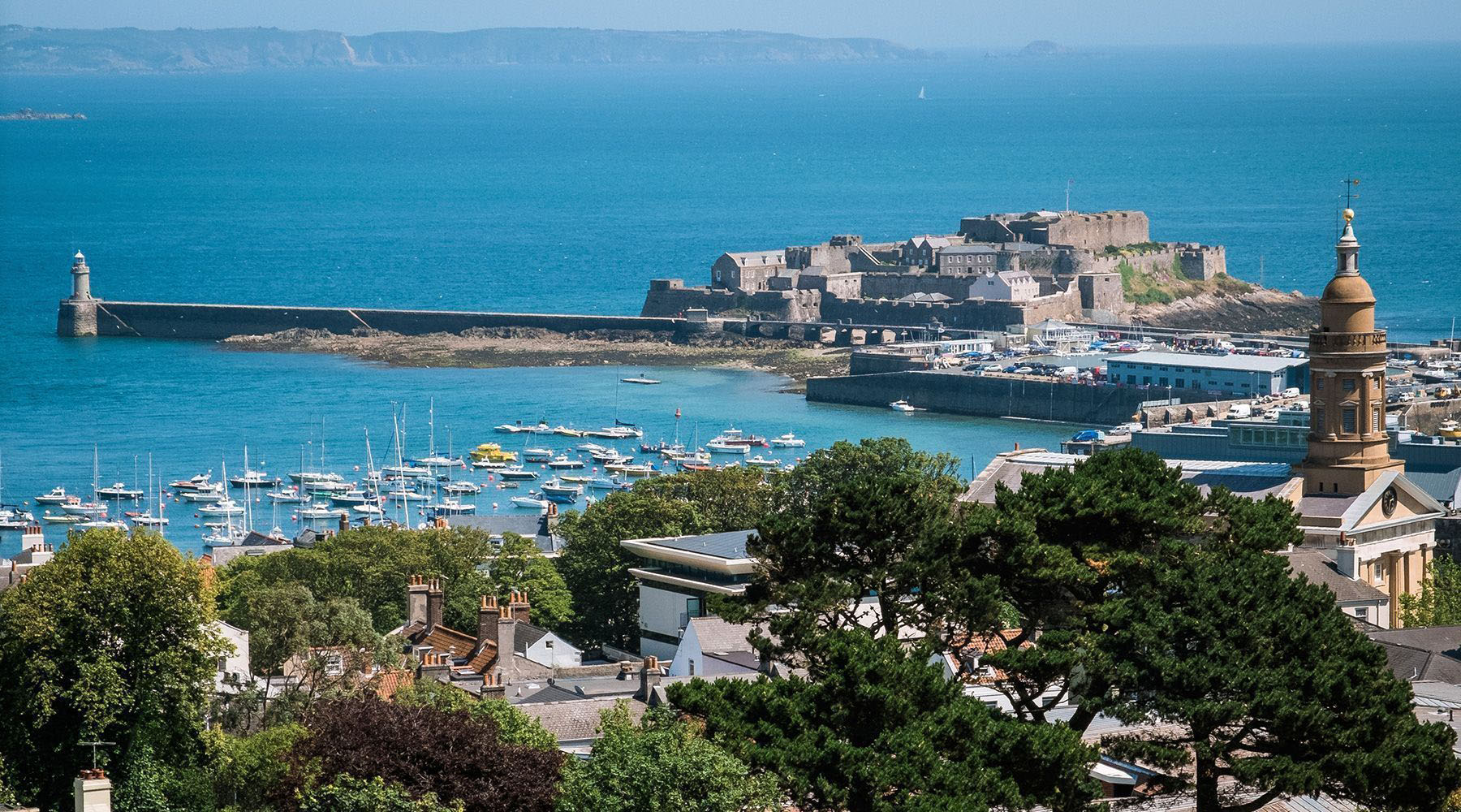Luxury Cruises to St. Peter Port, Guernsey, Channel Islands