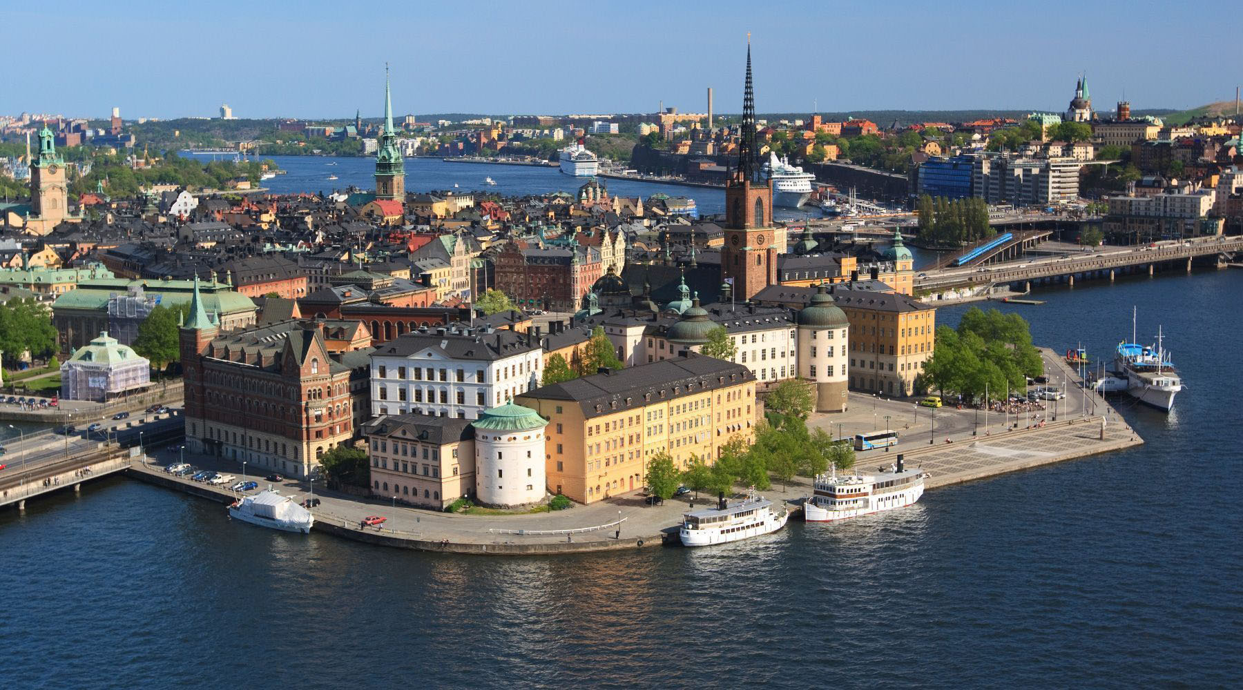 Luxury Cruises to Stockholm, Sweden