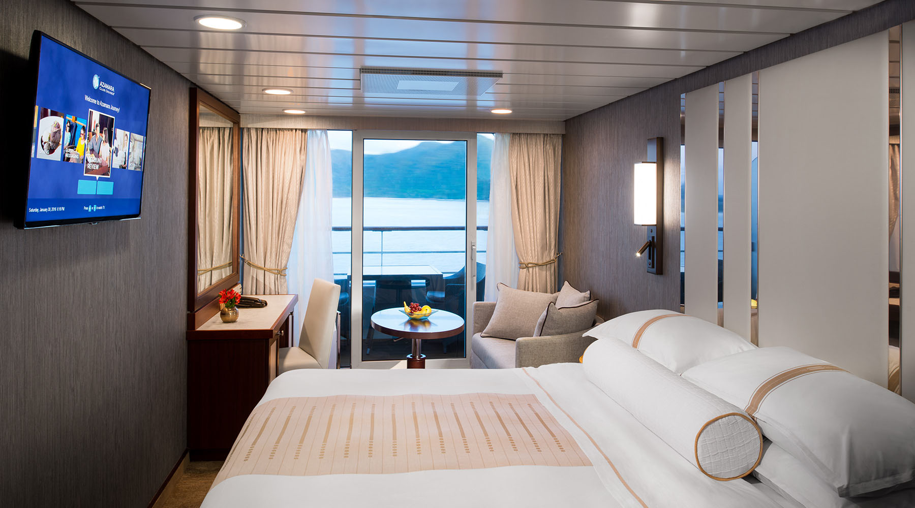 Club Veranda Stateroom Azamara Club Cruises