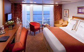 Interior view of Stateroom