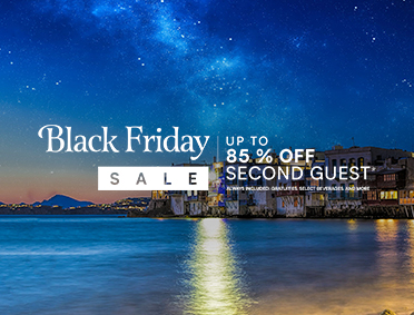 Up to 85% off second guest