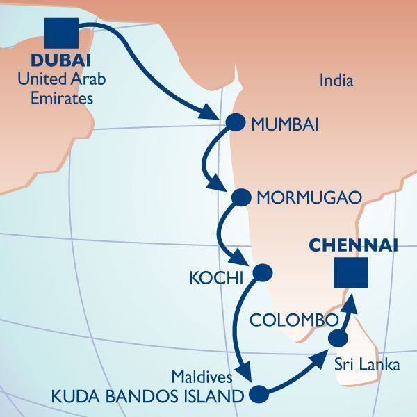 14 Night The Spice Route I Voyage Luxury Cruise Vacation