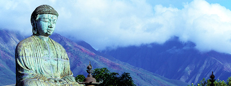 Jodo Mission, a Japanese Buddhist temple in Maui, Hawaii